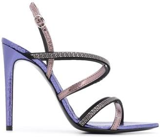 Just Cavalli slingback strap sandals