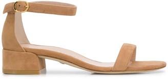 Stuart Weitzman Nudist June low heel sandals