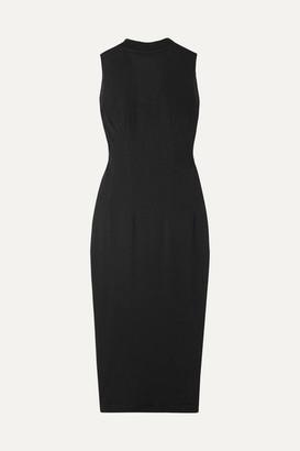 RtA Bandit Cotton-jersey Dress - Black