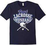 LaCrosse Men's Husband Shirt: Proud Husband Of Player T-Shirt
