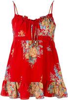 Alexander McQueen floral print camisole - women - Silk - 40