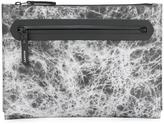 Lanvin marbled effect clutch