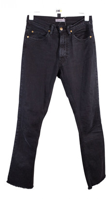 BA&SH Black Cotton Jeans