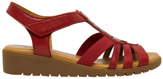 Supersoft By Diana Ferrari Hutchins Red Sandal