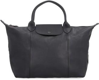 Longchamp Le Pliage Cuir Leather Bag
