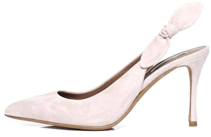 4826adda7a7 Millie Pump in Dusty Pink Suede