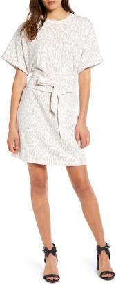 Rebecca Minkoff Marta Belted T-Shirt Dress