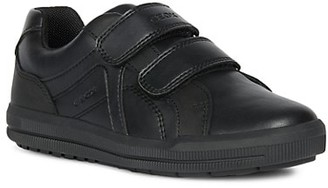 Geox Little Boy's & Boy's Arzach Leather Low-Rise Sneakers