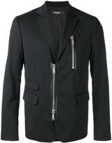 DSQUARED2 zipped blazer