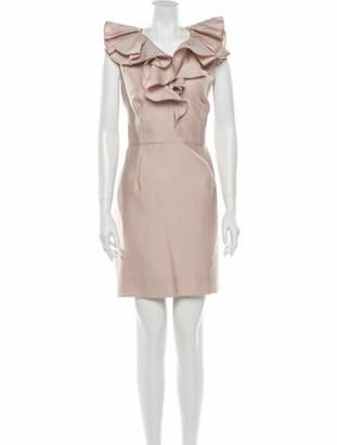 Valentino Wool Mini Dress Wool