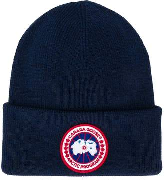 Canada Goose knitted logo beanie
