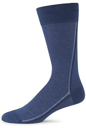Marcoliani Milano Pinstripe Cotton Socks