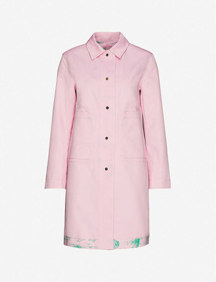 Benetton Reversible cotton coat