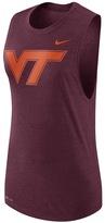 Nike Women's Virginia Tech Hokies Dri-FIT Muscle Tee