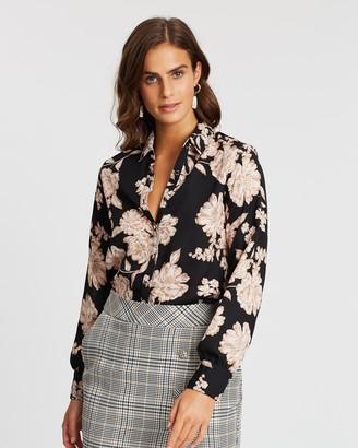 Dorothy Perkins Foil Floral Shirt