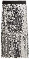 Dolce & Gabbana Paillette-embellished midi skirt