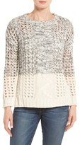 Dex Women's Cable & Eyelet Pullover