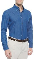Brunello Cucinelli Long-Sleeve Button-Down Shirt