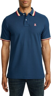 Psycho Bunny Erindale Tipped Pique Polo