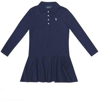 Polo Ralph Lauren Stretch-cotton dress