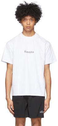 all in White Kanada T-Shirt