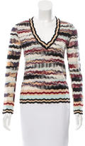 Missoni Wool V-Neck Sweater