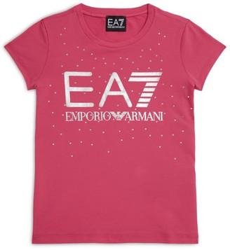 Emporio Armani Kids Metallic Logo T-Shirt