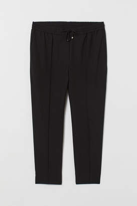 H&M H&M+ Joggers with creases