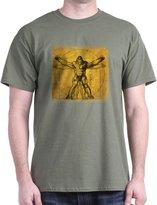 CafePress - Davinci Bigfoot - 100% Cotton T-Shirt, Crew Neck, Comfortable and Soft Classic Tee with Unique Design