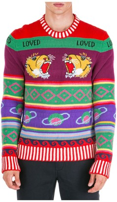 Gucci Knitted Crewneck Sweater