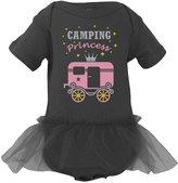 TeeStars Camping Princess Cute Camper Bodysuit Camping Gift Baby Girl Tutu Onesie