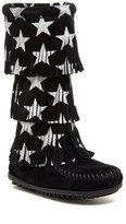 Minnetonka Star Fringe Boot (Toddler, Little Kid, & Big Kid)