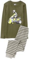 Crazy 8 Dirt Bike 2-Piece Pajama Set