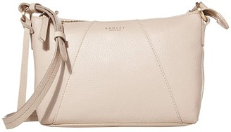 Radley London Wood Street - Medium Zip Top Crossbody (Dove Grey) Handbags
