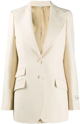 Gucci Glitter single-breasted blazer