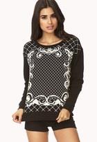 Forever 21 Baroque Sweatshirt