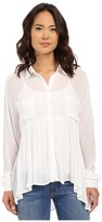 Brigitte Bailey Cesena Flouncy Button Up Top