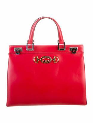 Gucci 2019 Medium Zumi Top Handle Bag