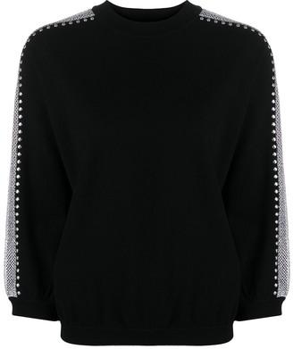 Love Moschino Mesh-Panel Sweater
