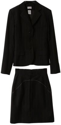 Alaia Black Wool Jacket for Women Vintage