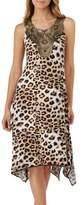 Ellen Tracy Leopard Nightgown