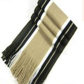 Uniflow In Uniflowin Man Casual Stripe Scarves Silk with Tassels For Winter Acrylic 180cm