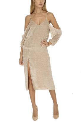 Mason by Michelle Mason Drop Shoulder Slip Dress