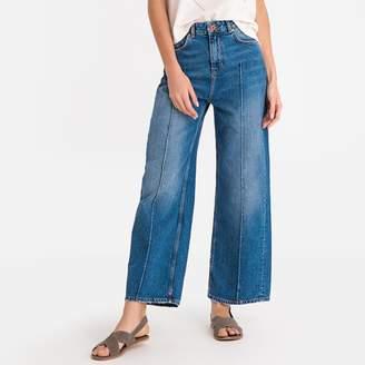 """Maison Scotch Short Wide Leg Jeans, Length 32"""""""