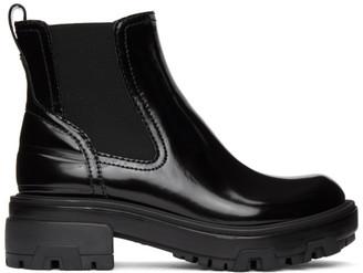 Rag & Bone Black Leather Shaye Boots