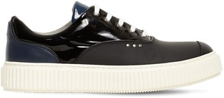 Me.Land Low Top Patent Leather Sneakers