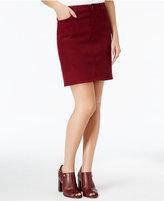 Tommy Hilfiger Zinfandel Wash Denim Skirt, Only at Macy's