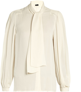 Joseph Bill silk-georgette blouse