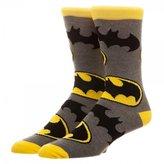 Bioworld Batman Large All of Print Crew Socks
