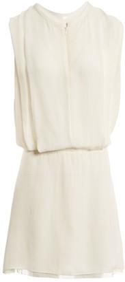 Acne Studios White Polyester Dresses